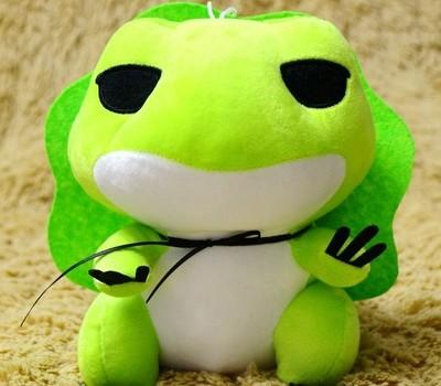 旅行青蛙毛绒玩具呱儿子定制